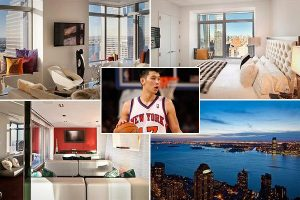 Jeremy Lin Homes of NBA Stars CNBC 300x200 Lin Appeases NYC Fans, Rents Downtown Condo at W Hotel  