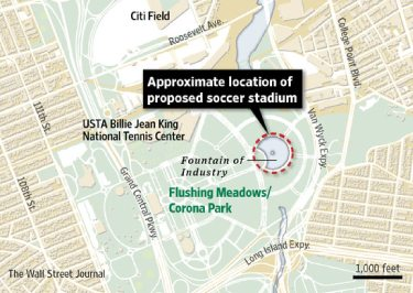 soccer in queens mls consider new stadium Next Stop for the MLS, Queens