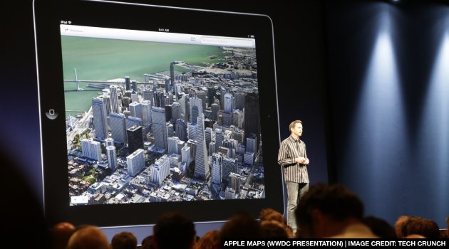 Rotten Apple Maps: iOS 6 Apple Maps App Has Remodeled NYC ...