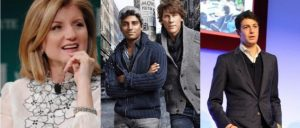 (NYC Tech Company Founders) | Arianna Huffington, Founder Huffington Post | Dennis Crowley - Naveen Selvadurai, Founder (s) Foursquare | Joshua Kushner, Co-founder of Vostu