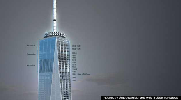 World Trade Center Reaches New Heights