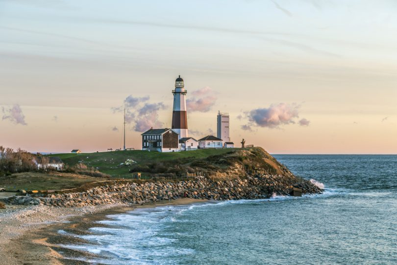Montauk Point Light, Lighthouse, Long Island, New York, Suffolk County