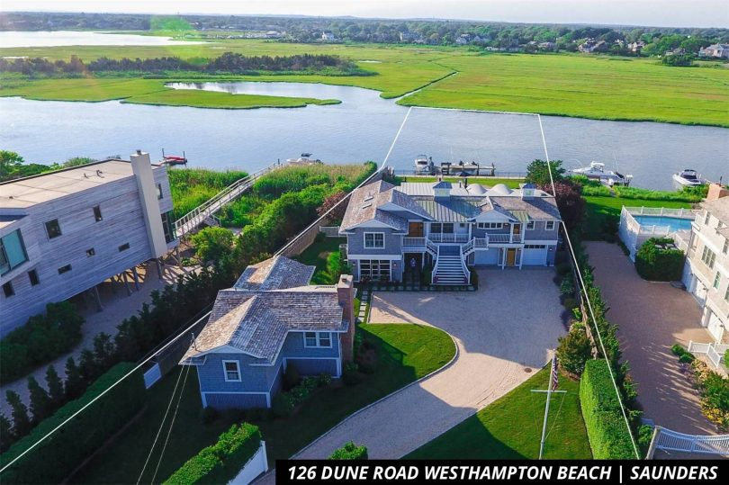 Private docks are a must for some in the Hamptons
