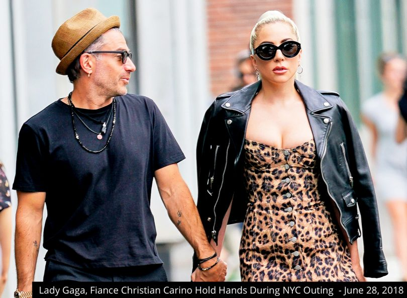 Lady Gaga, Fiance Christian Carino Hold Hands During NYC Outing