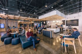 Inside a Capital One Cafe Capital One/Official