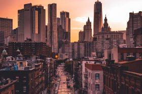 Manhattan by Night. Credit: Lerone Pieters
