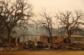 Paramount Ranch in Agoura Hills, Calif. was decimated by a wildfire on Friday, officials said.CreditCreditMarcio Jose Sanchez/Associated Press