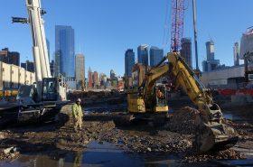 Construction near the East River Credit: Flickr.com/Henry Hemming