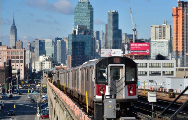 7 Train, NYC