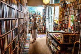 Inside a bookstore Credit: unsplash.com