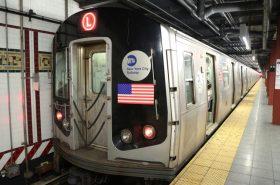 The L train, NYC