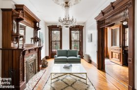 Stunning 1890s Brooklyn townhouse hits the market in Stuyvesant Heights