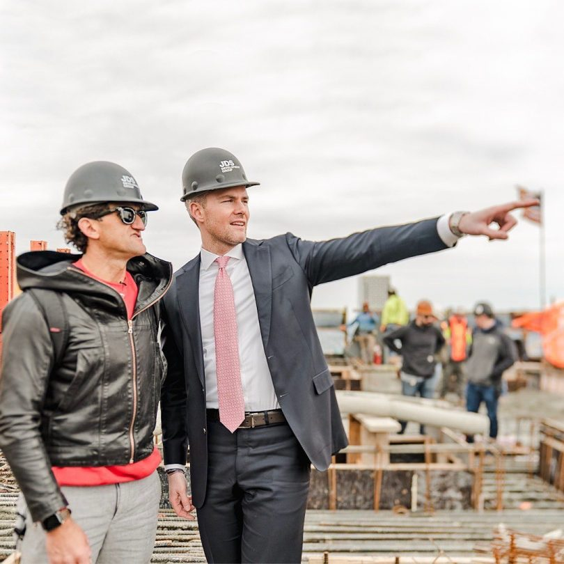 """Million Dollar Listing NY"""" Star Ryan Serhant & YouTube Star Casey Neistat Get First Look Of NYC's Newest Supertower"""