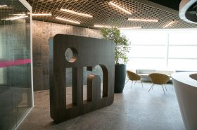 Lobby in the São Paulo office. Credit: LinkedIn