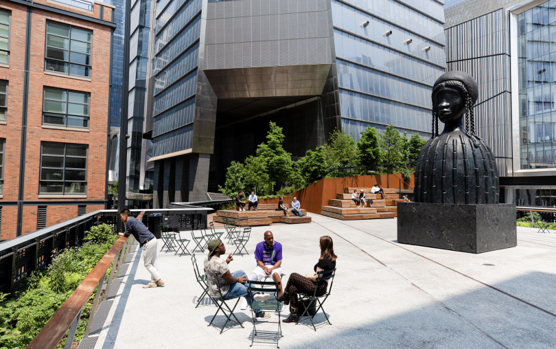 The Spur just opened as the High Line's newest and final section