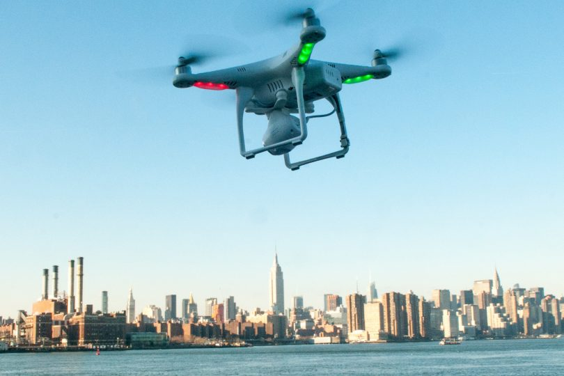 Photo Source: Drone flying in Brooklyn,  NY, NY, Exclusive for Sunday, J.C. RIce by dronelife.com