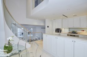 Upper East Side Duplex: A grand staircase included