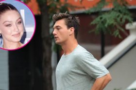 Tyler Cameron has found an NYC apartment just as his romance builds with Gigi Hadid