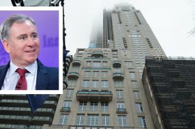 Ken Griffin and 220 Central Park South courtesy of Town & Country Magazine