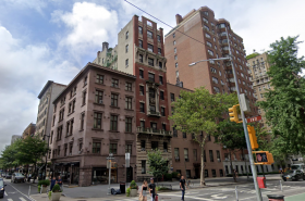 14-16 Fifth Avenue, the third building from the corner. The photo shows the comparatively low height of the other buildings on the block - Photo by Google Streetview