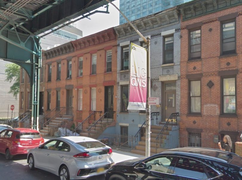 The historic 23rd Street homes slated for destruction Photo by Google Maps