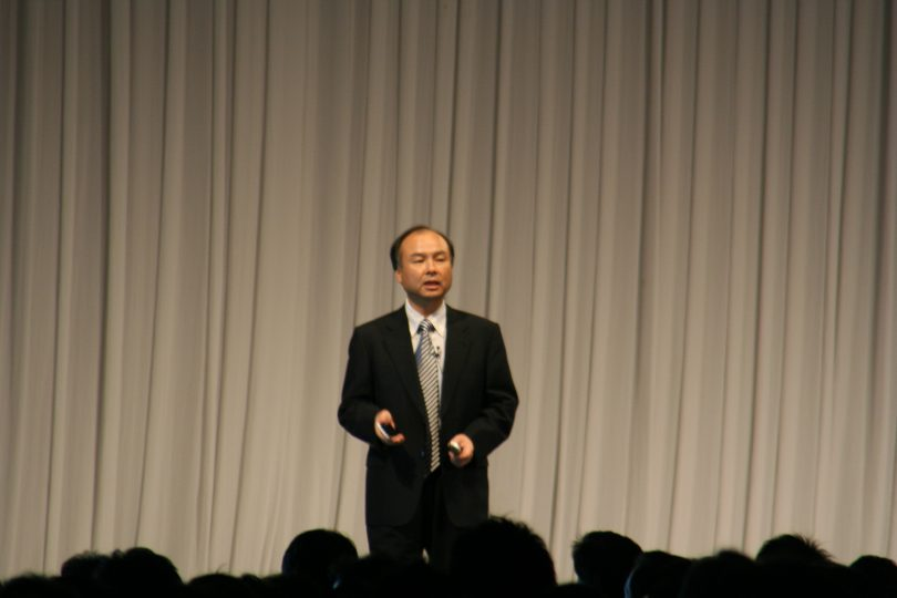 Masayoshi Son Softbank Mobile Summit 2008 - nobihaya [CC BY 2.0 (https://creativecommons.org/licenses/by/2.0)]