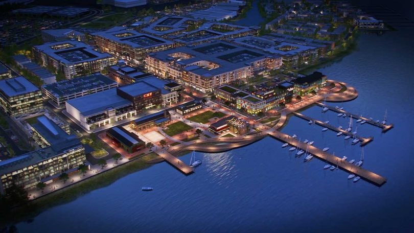 A rendering of the planned development (Photo: Courtesy of North American Properties)