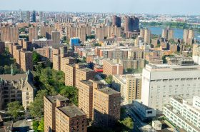 East Harlem, Manhattan, NYC - Photo by Jay Suresh https://commons.wikimedia.org/wiki/File:East_Harlem_Skyline_(48200097101).jpg