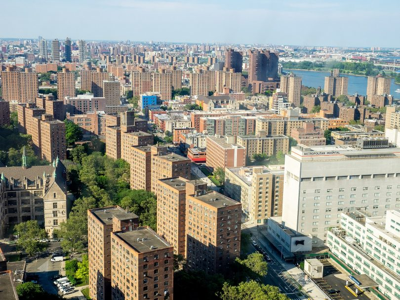 East Harlem, Manhattan, NYC - Photo by Jay Suresh https://commons.wikimedia.org/wiki/File:East_Harlem_Skyline_(48200097101).jpg